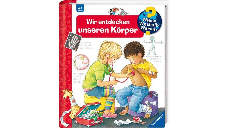 Ravensburger Wieso Weshalb Warum Wir entdecken unseren Koerper mit Kinderstethoskop