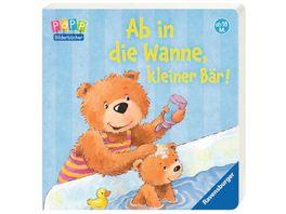 Ravensburger Bilderbuch Ab in die Wanne kleiner Baer