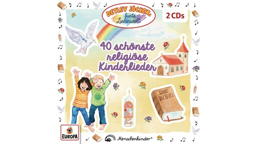 40 schoenste religioese Kinderlieder