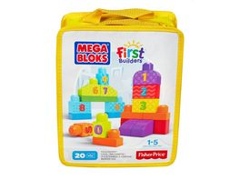 Fisher Price Mega Bloks First Builders 123 Bausteine Zaehlspass