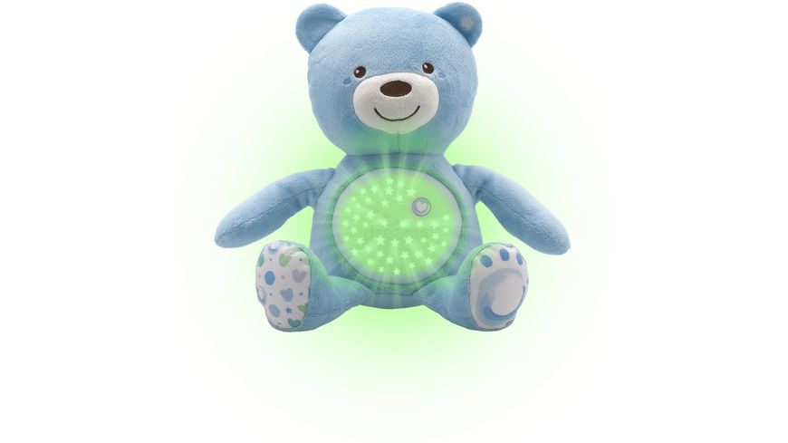Chicco First Dreams Baby Baer blau