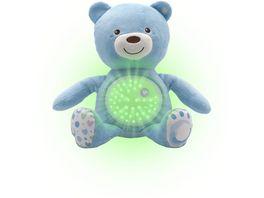 Chicco First Dreams Baby Baer blau