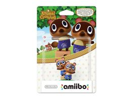 Amiibo Animal Crossing Figur Nepp und Schlepp