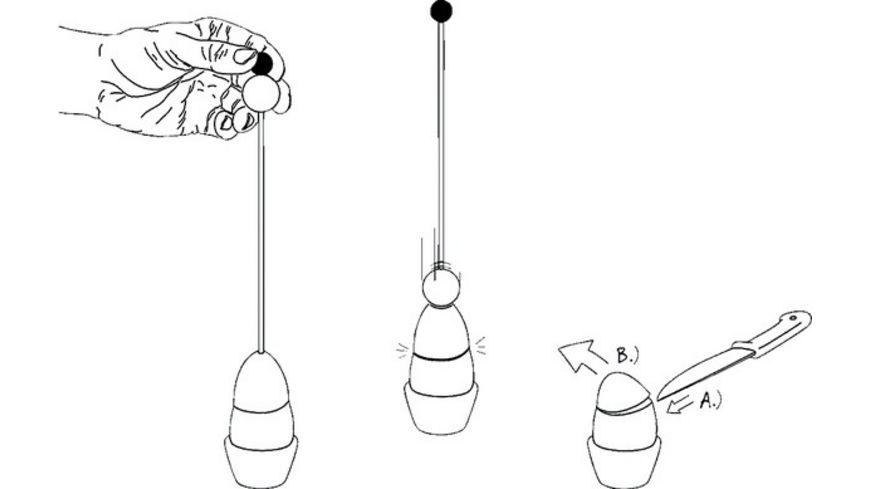 Eiersollbruchstellenverursacher Clack