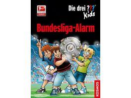 Buch KOSMOS Die drei Kids Bundesliga Alarm