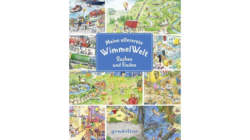 Buch gondolino Meine allererste WimmelWelt Suchen und finden