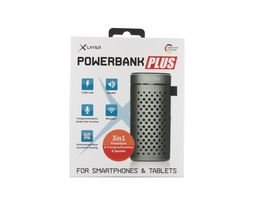 Xlayer Zusatzakku Powerbank PLUS Speaker spacegrau 4000mAh