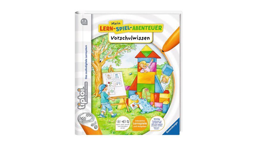 Ravensburger tiptoi Mein Lern Spiel Abenteuer Vorschulwissen