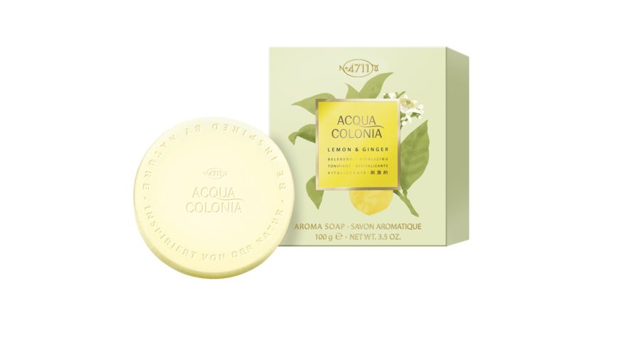 4711 Acqua Colonia Lemon Ginger Aromaseife