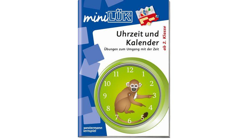 miniLUeK Uhr und Kalender ab Klasse 2