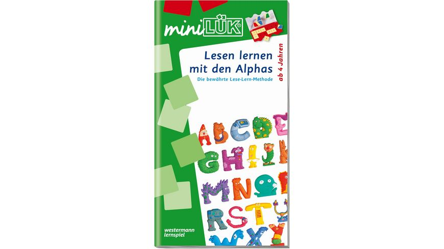 miniLUeK Lesen lernen mit den Alphas
