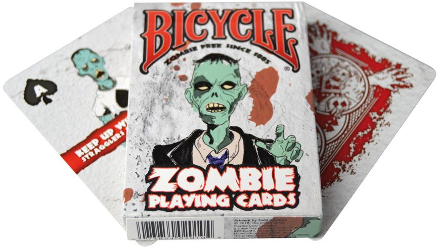 Bicycle Poker Kartendeck Zombie
