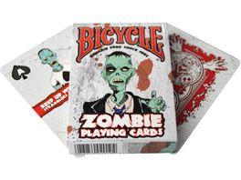 Bicycle Poker Kartendeck Zombie