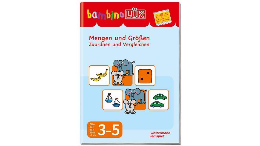 bambinoLUeK Mengen und Groessen