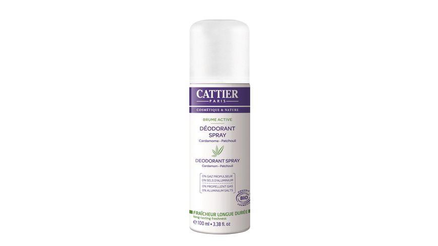 CATTIER Deodorant Spray Cardamom Patchouli