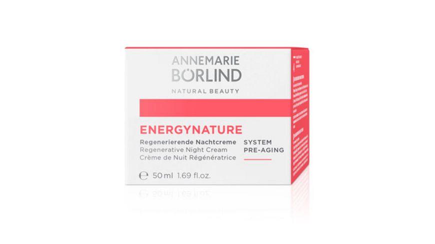 ANNEMARIE BOeRLIND ENERGY NATURE Regenerierende Nachtcreme