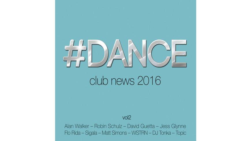 Dance Vol 2 Club News 2016