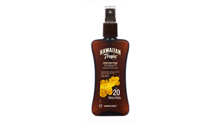 Hawaiian Tropic Protective Dry Spray Oil LSF 20