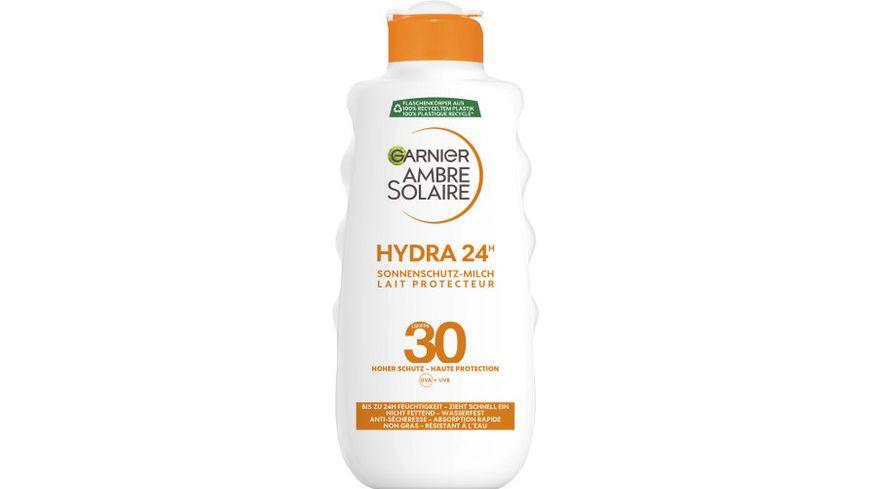 GARNIER Ambre Solaire Feuchtigkeitsspendende Sonnenschutz Milch LSF 30