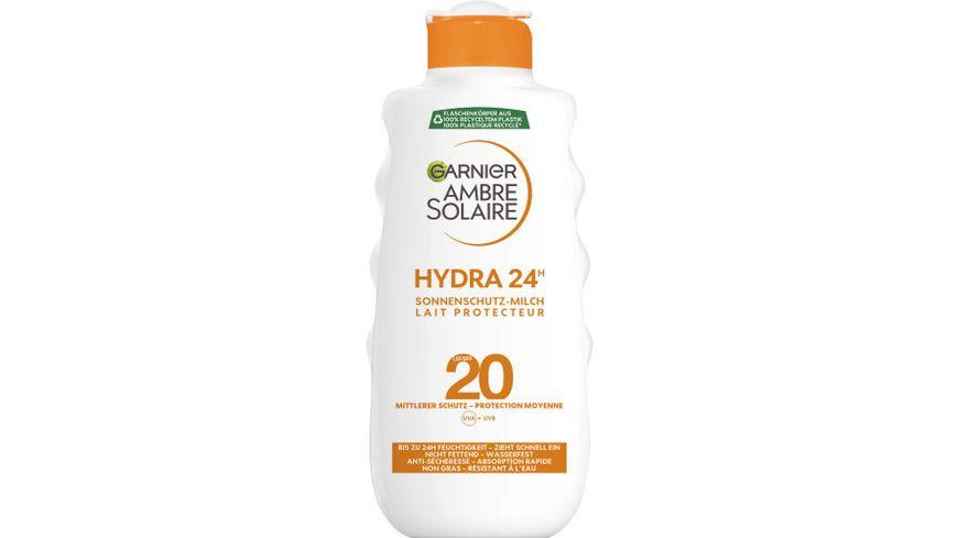 GARNIER Ambre Solaire Feuchtigkeitsspendende Sonnenschutz Milch LSF 20