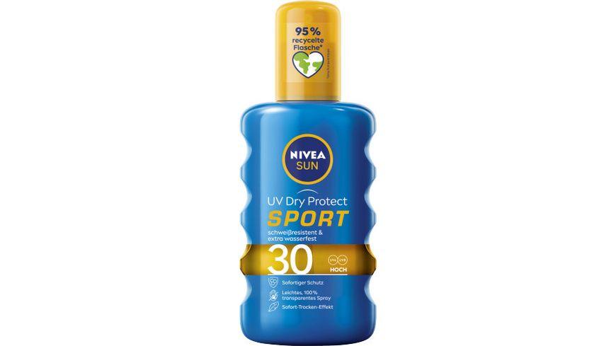 NIVEA sun Schutz Frische Transparentes Sonnenspray LSF30