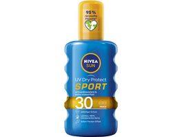NIVEA sun Schutz Frische Transparentes Sonnenspray LF30 200ml