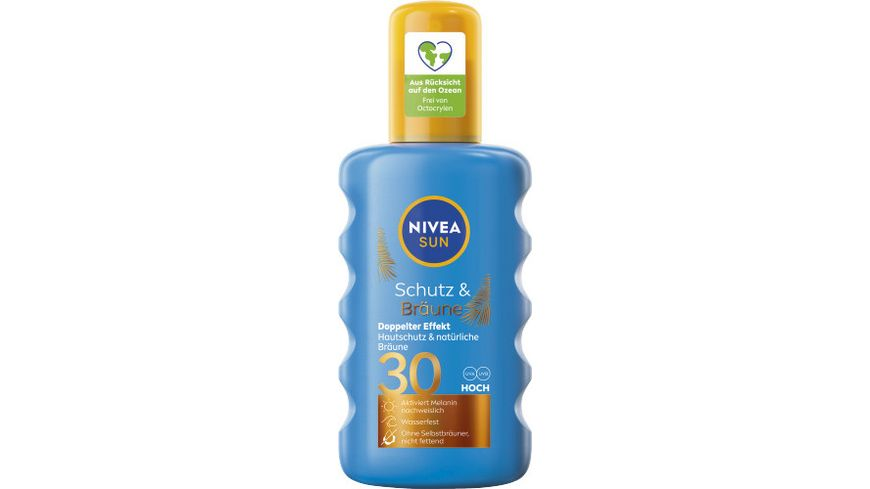 NIVEA sun Protect Bronze Spray LSF 30