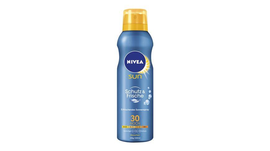 NIVEA sun Schutz Frische Sonnenspray LSF30