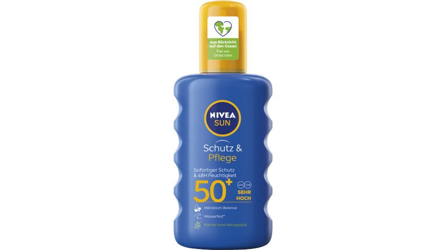 NIVEA sun Schutz Pflege Sonnenspray LSF50