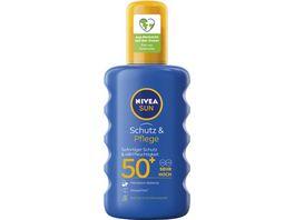 NIVEA sun Schutz Pflege Sonnenspray LF50 200ml