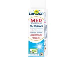 Lavozon Sonnenfluid Allergische Haut LSF 50