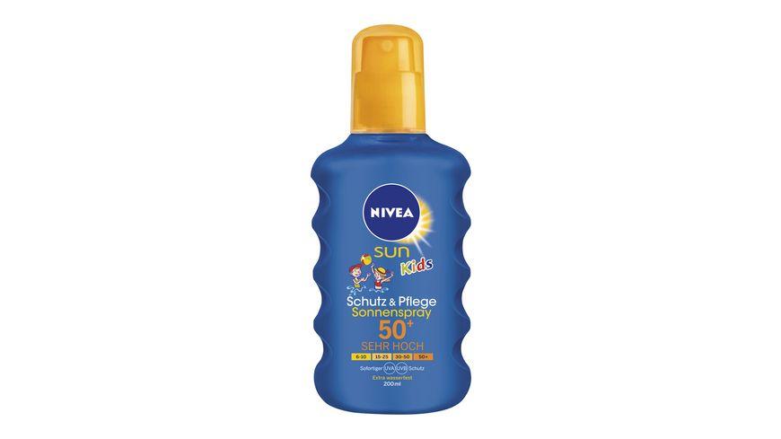 NIVEA sun Kids Pflegendes Sonnenspray LSF 50