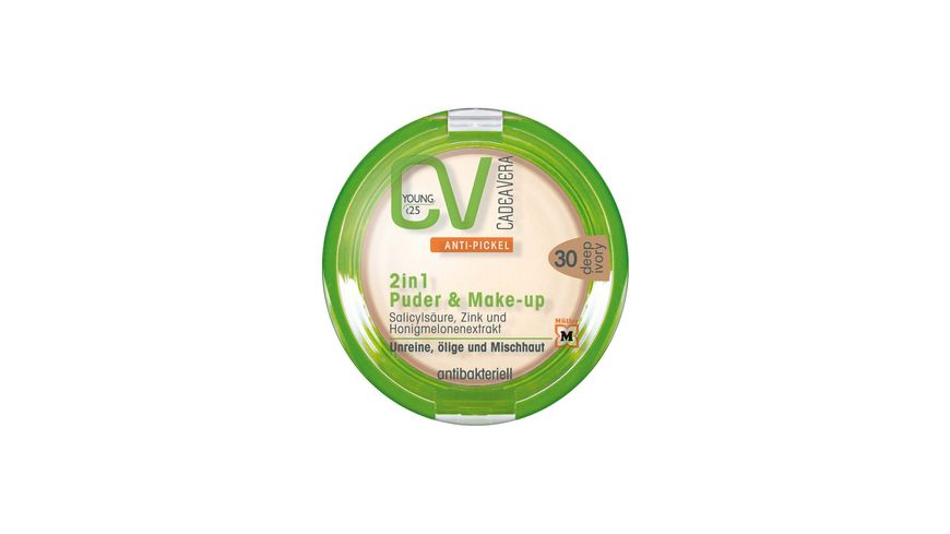 CV Young Anti Pickel 2in1 Puder Make Up 30
