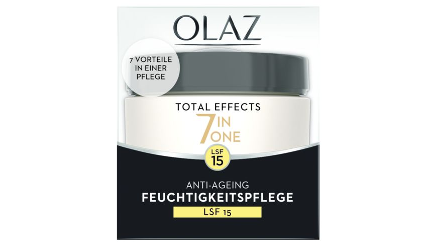 OLAZ Total Effects 7 in 1 Tagescreme Anti Aging Hautpflege mit LSF 15