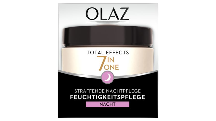 OLAZ Total Effects 7 in 1 Straffende Nachtcreme Anti Aging Hautpflege
