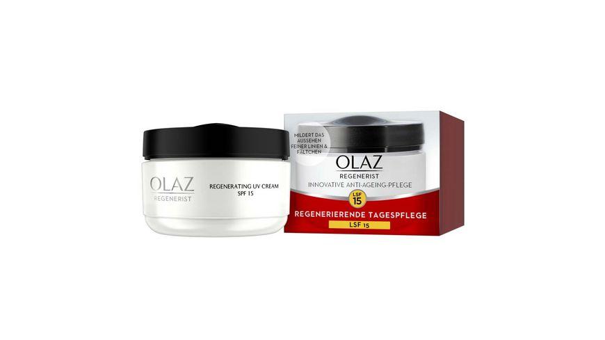 OLAZ Regenerist Tagescreme Anti Aging Hautpflege mit LSF 15