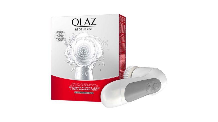 OLAZ Regenerist 3 Zonen Reinigungssystem zur Gesichtsreinigung Anti Aging Hautpflege