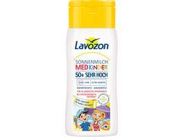 Lavozon Sonnenmilch MED Kinder LSF 50
