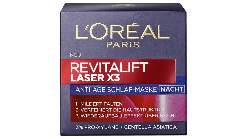 L OREAL PARIS REVITALIFT Laser X3 Nachtcreme