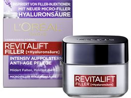 L OREAL PARIS REVITALIFT Filler Hyaluronsaeure Intensiv Aufpolsternde Anti Age Tagescreme