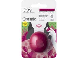eos Organic Smooth Sphere Lip Balm Pomegranate Raspberry