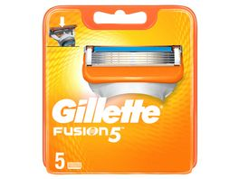 Gillette Klingen Fusion 5 Stueck