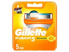 Gillette Klingen Fusion Power 5 Stueck