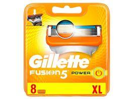 Gillette Klingen Fusion Power 8 Stueck