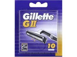 Gillette Klingen GII 10 Stueck