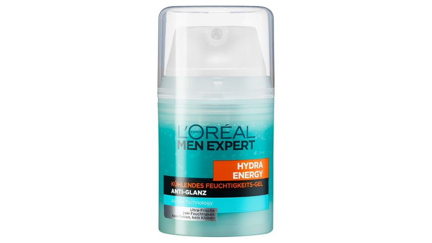 L OREAL PARIS MEN EXPERT Hydra kuehlendens Gel Anti Glanz