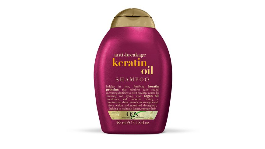ogx Shampoo Anti Breakage Keratin Oil