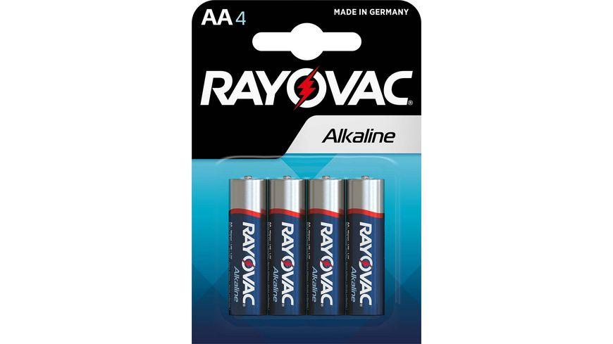 VARTA RAYOVAC Alkalinebatterie Mignon AA 1 5V 4 Stueck
