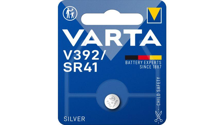 VARTA ELECTRONICS Knopfzelle Silberoxid V 392 1 Stueck
