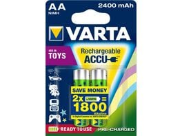VARTA TOY AKKU NIMH Ready 2 Use Mignon AA 2 Stueck
